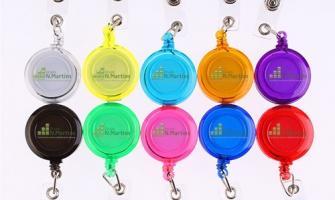 Roller clip para crachá personalizado